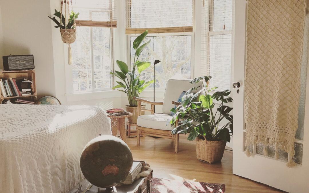 Czym charakteryzuje się sypialnia w stylu boho?